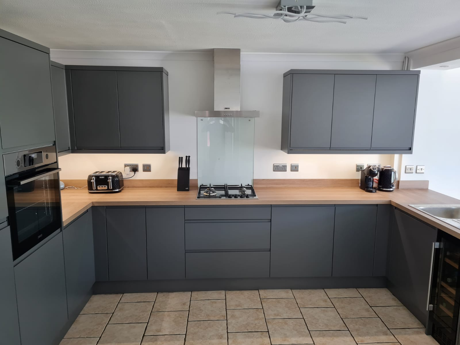 Monarch joinery kitchen fitting
