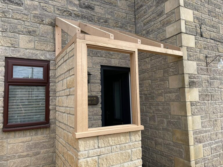 Monarch joinery porch